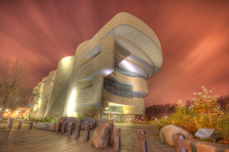 """National Museum of the American Indian"""" din Washington DC"""