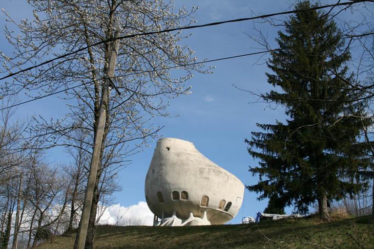 O casa din Alpi