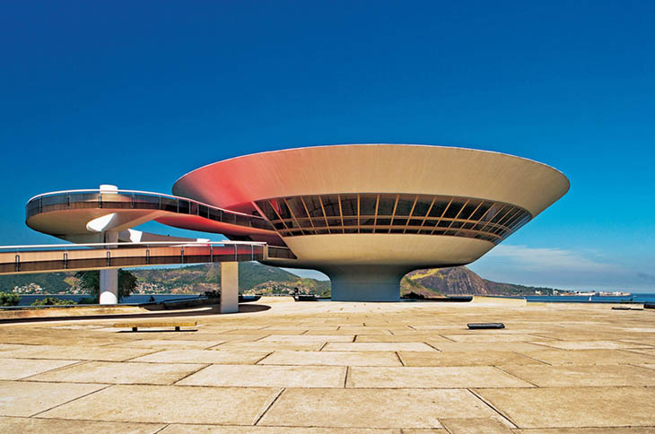 Muzeul Artelor Contemporane, Niteroi, Rio de Janeiro, Brazilia