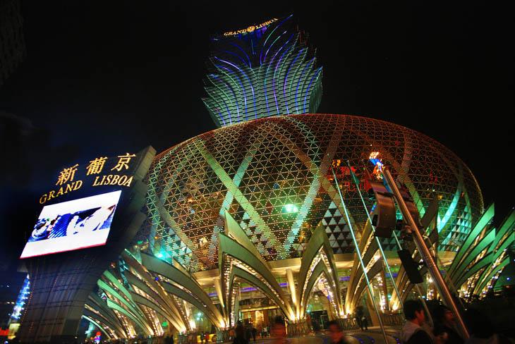 Grand Lisboa Macau, Avenida de Lisboa, Macau, China