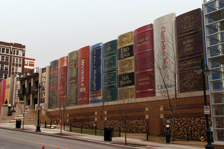 Library Parking Garage, Kansas City, Missouri, USA