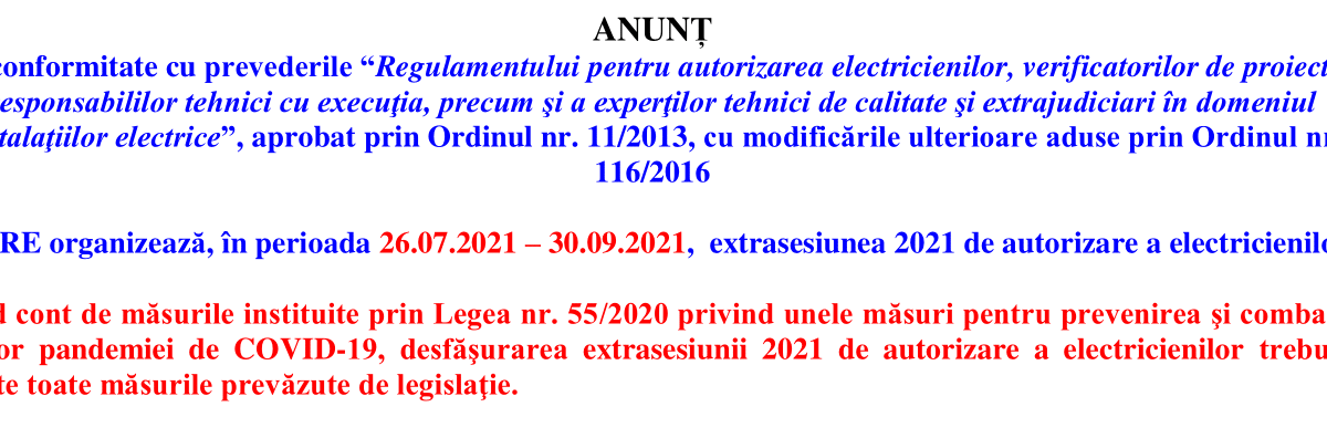 Anunt_sesiune_VARA_2021-1 detalii chestionare-anre.ro